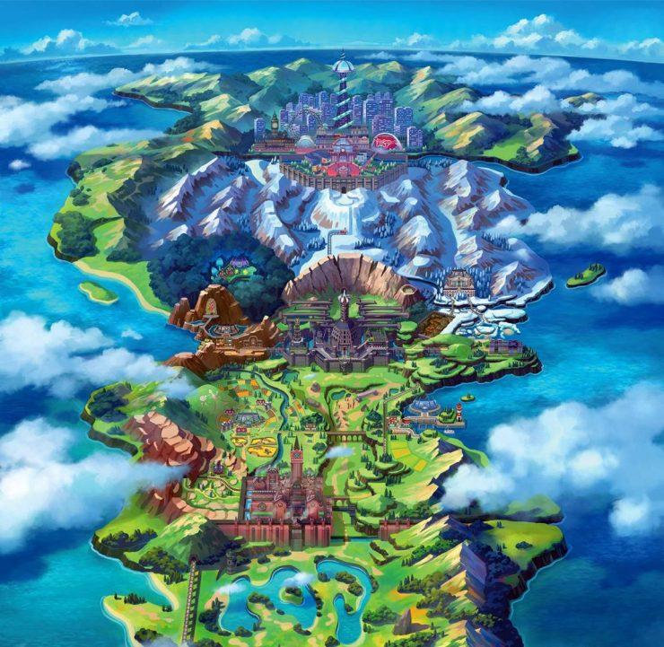Pokemon_Sword&Shield_Galar_Map