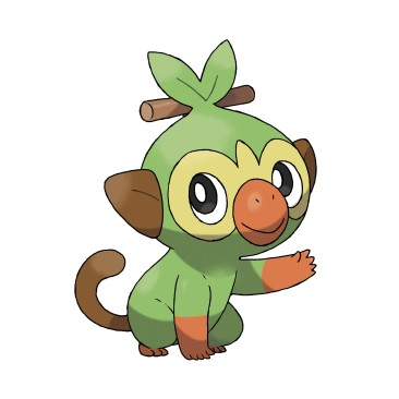Grookey (Grass Type)