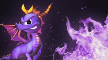 Spyro The Dragon Full Widescreen Wallpaper